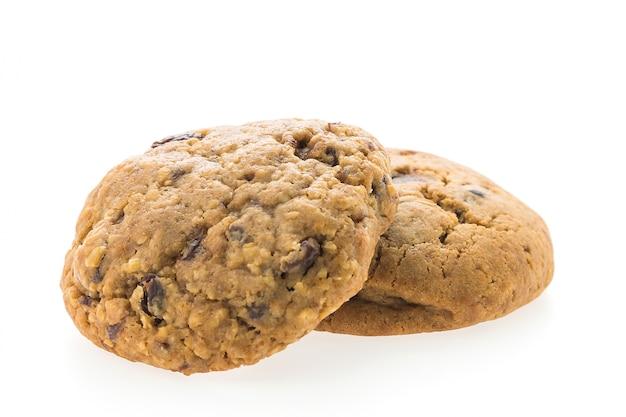 Close-up de savoureux biscuits