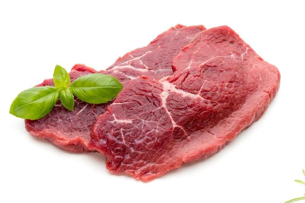 Close-up de steak de boeuf cru frais