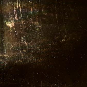 Close-up textures d'or avec vignette