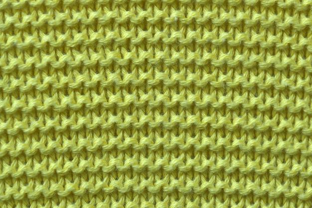 Close-up en tricot de laine machine