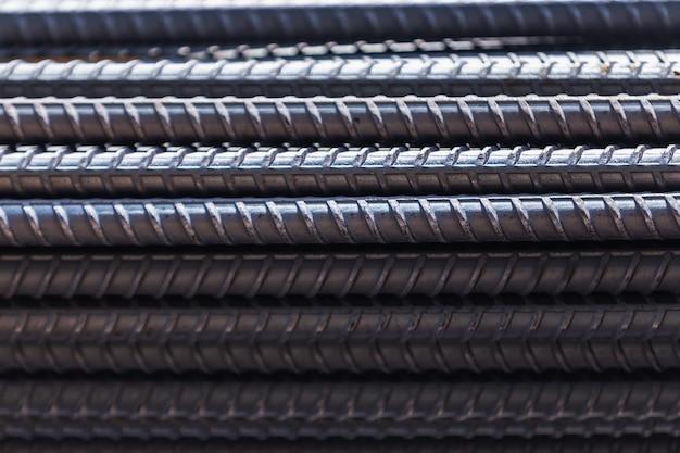 Closeup barres d'acier