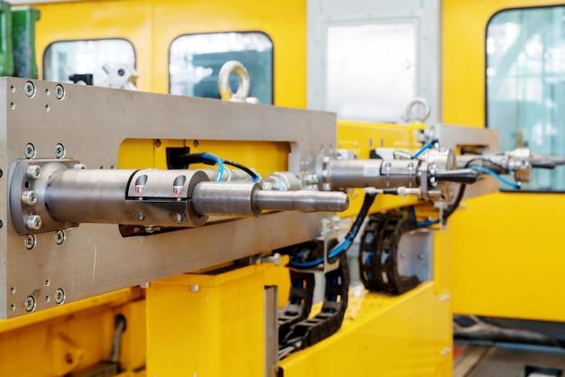 Closeup équipement de ligne de production automobile