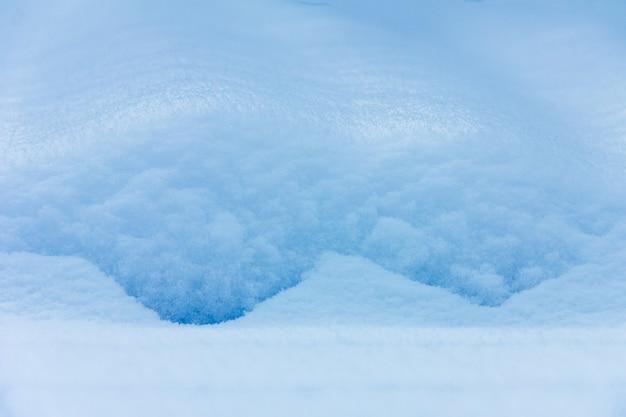 Closeup hiver fond texture congère