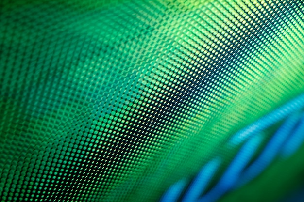 Closeup led écran flou. arrière-plan flou led