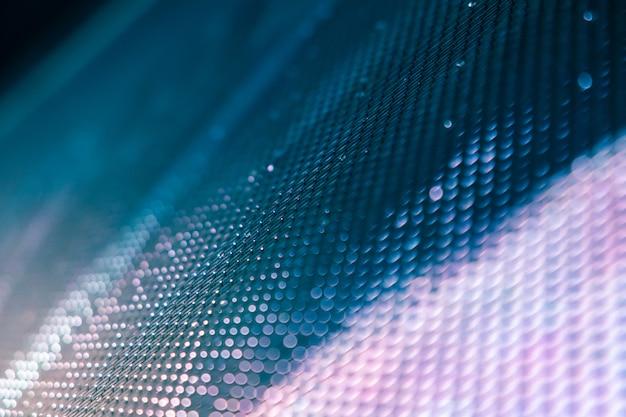 Closeup led écran flou. fond de flou de led. abstrait