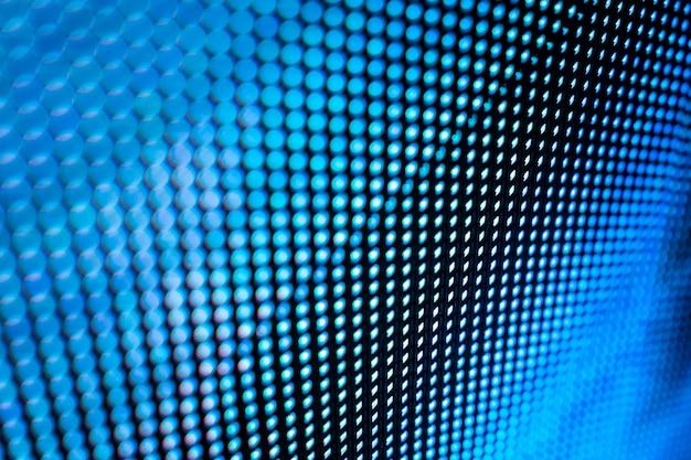 Closeup led écran flou.