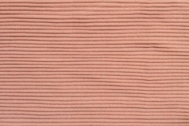 Closeup motif abstrait au vêtement brun pour femme texturé