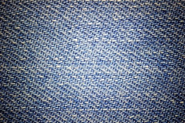 Closeup texture de jeans bleus