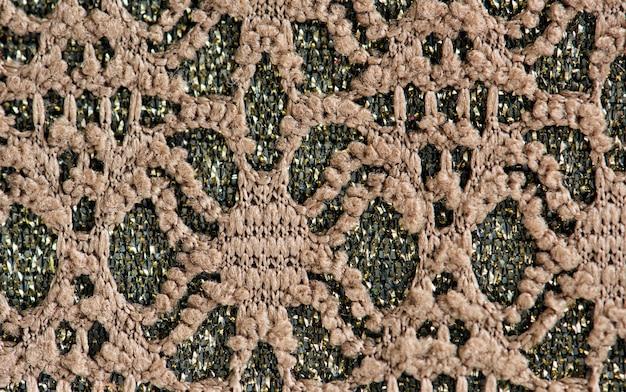 Closeup tissu vert