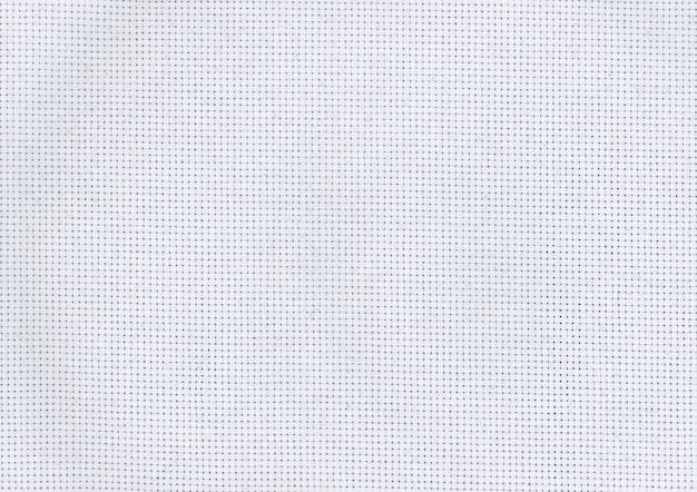 Closeup toile brodée
