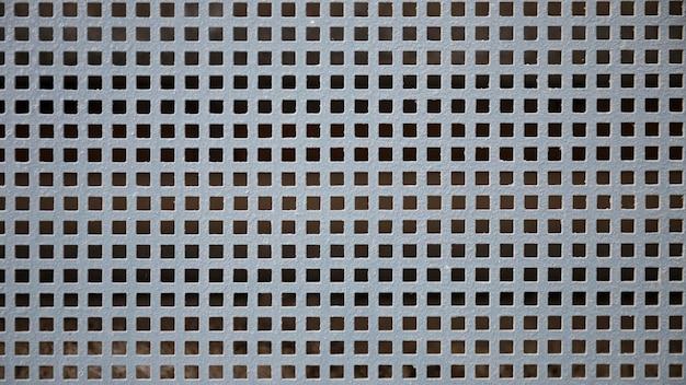 Clôture en acier inoxydable avec trous