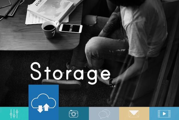 Cloud computing storage chargement