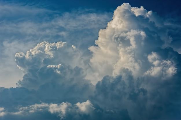Cloudscape en relief dramatique