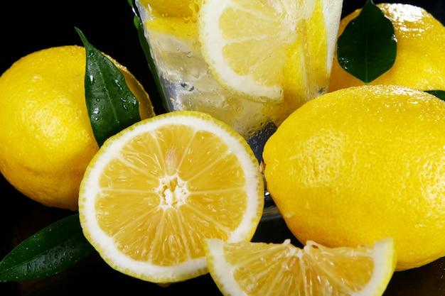 Cocktail aux citrons frais