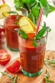 Cocktail bloody mary