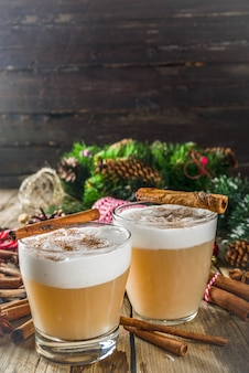 Cocktail chaud toddy automne-hiver