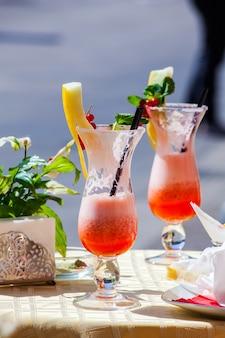 Cocktail en été