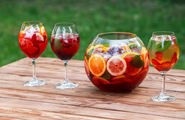 Cocktail frais sans alcool.