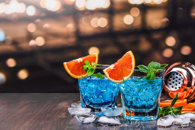 Cocktail lagon bleu