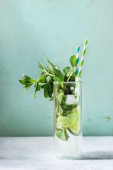 Cocktail de mojito classique