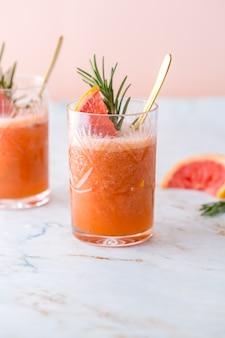 Cocktail de pamplemousse