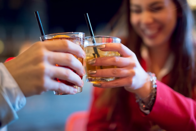 Cocktail de personnes