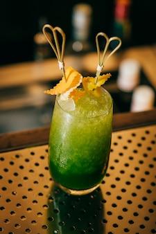Cocktail de pomme verte