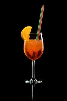Cocktail seringue aperol