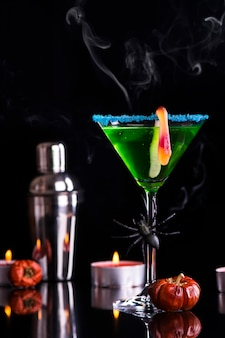 Cocktail de sorcière d'halloween