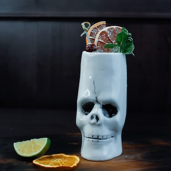 Cocktail sucré alcoolisé