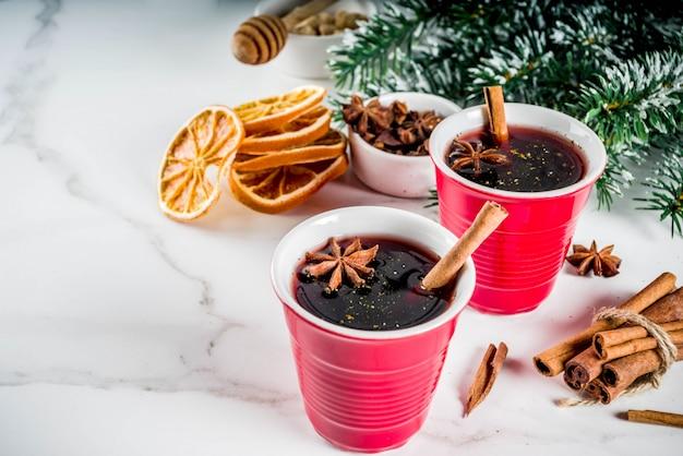 Cocktail de vin chaud