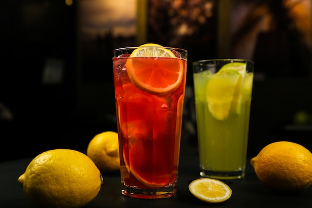 Cocktails d'agrumes