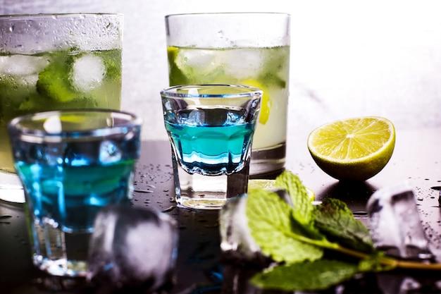 Cocktails alcoolisés savoureux