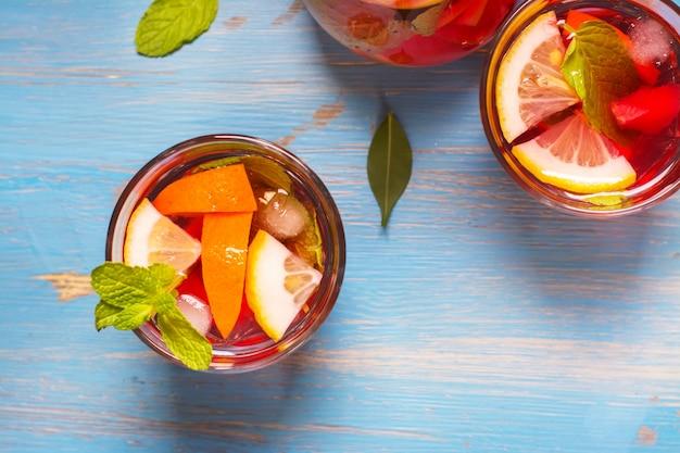 Cocktails d'été rafraîchissants