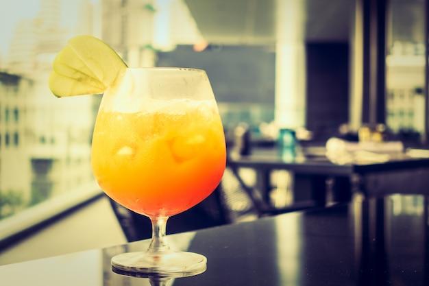 Cocktails sans alcool glacés