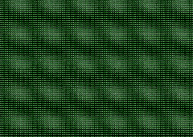 Code informatique vert des uns et des zéros en arrière-plan.