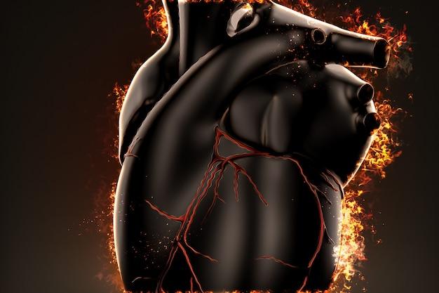Cœur brulant