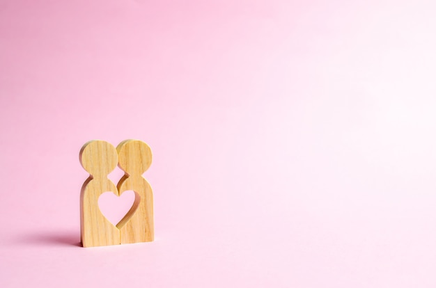 Coeur entre les gens
