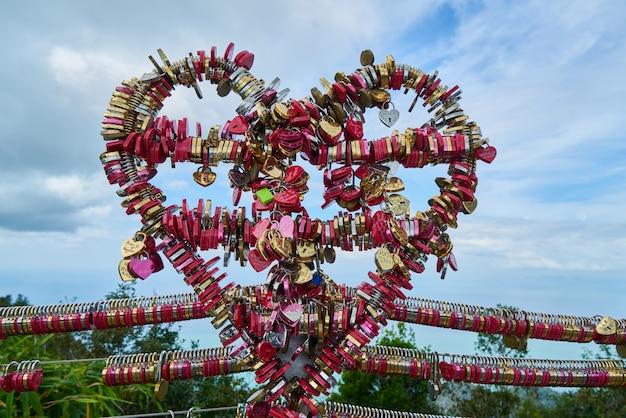 Coeur fait de cadenas