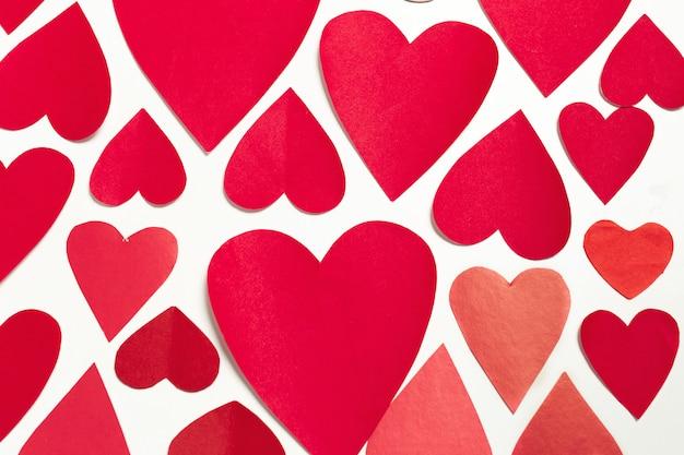 Coeur en papier, vierge
