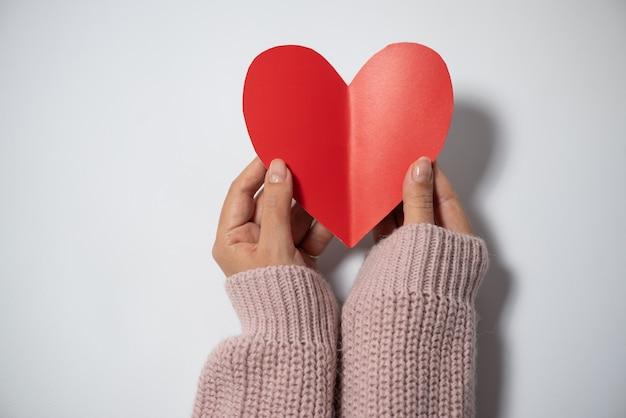 Coeurs sur fond concept de saint valentin