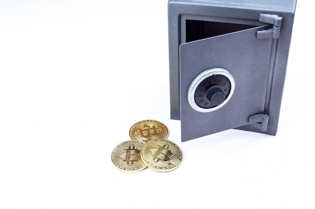 Coffre-fort et bitcoin