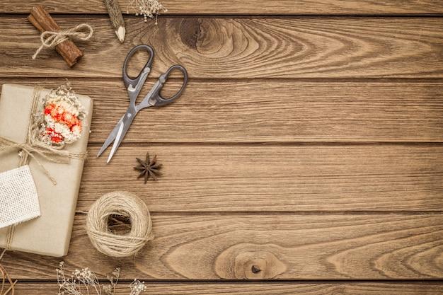 Coffret cadeau bricolage et ornements de noël fabriqués à la main
