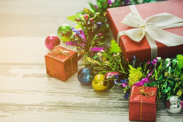 Coffret cadeau décoration de chistmas.