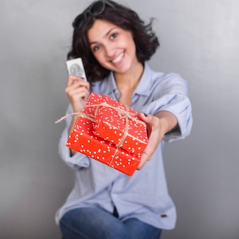 Coffret cadeau femme en chemise