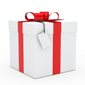 Coffret cadeau avec un joli arc