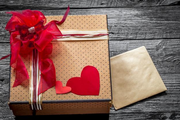 Coffret cadeau pour la saint-valentin