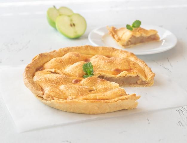 Coin de tarte aux pommes