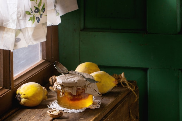 Coing et miel