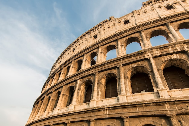 Colisée à rome, italie